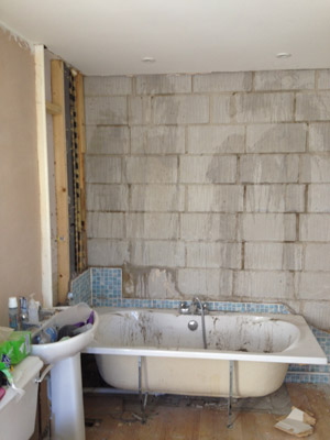 bathroom tiling and installation